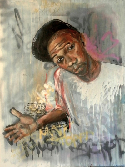 Desiree Kelly Art - Detroit based artist - Counter Culture (AVAILABLE --CONTACT FOR PRICE