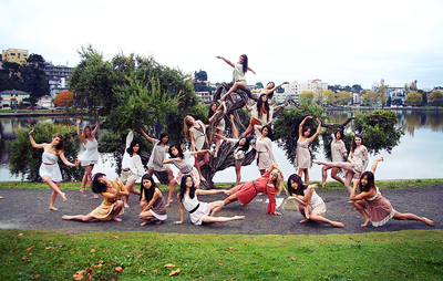 SUI (JEN)ERIS PHOTOGRAPHY - Thrive Dance Company - Lake Merrit, California