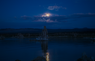 SUI (JEN)ERIS PHOTOGRAPHY - Full Moon - Mono Lake, California