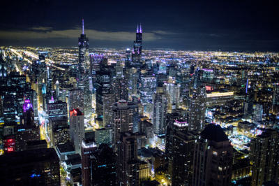 SUI (JEN)ERIS PHOTOGRAPHY - Chicago at night - Chicago, Illinois