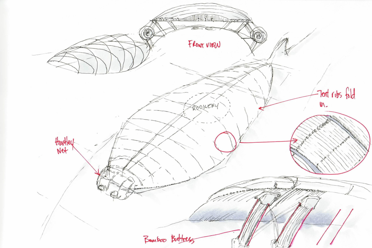 The Works of Brian Vincent Rhodes - The Leviathan Project - Carapace Designs, 2014