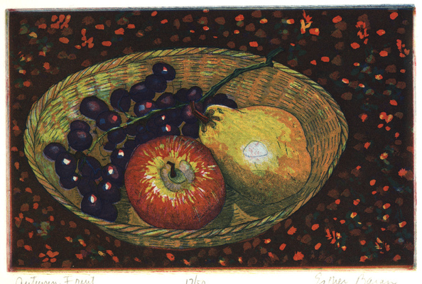 Esther Baran Artwork - Autumn Fruit - $280