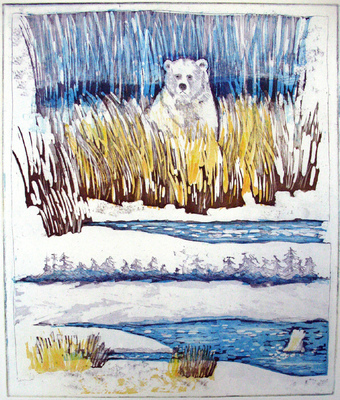 Esther Baran Artwork - Polar Bears - $410