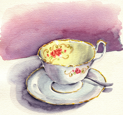Esther Baran Artwork - Teacup