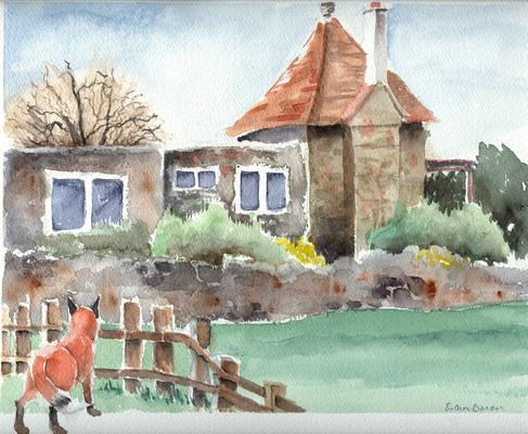 Esther Baran Artwork - Private House - $470