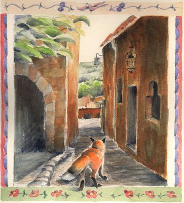 Esther Baran Artwork - Walks Alone