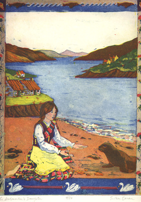 Esther Baran Artwork - Sealmaidens Daughter - $345