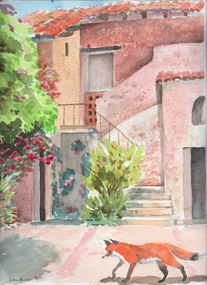 Esther Baran Artwork - Carmel Mission IV - $470