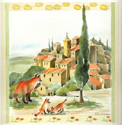 Esther Baran Artwork - Madame Renarde Gorde - $420