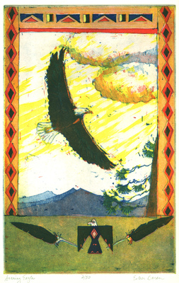 Esther Baran Artwork - Soaring Eagle - $220