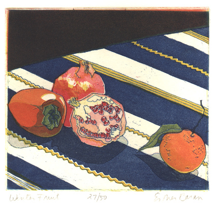 Esther Baran Artwork - Winter Fruit - $280