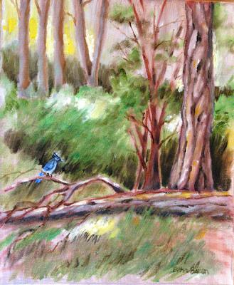 Esther Baran Artwork - Old Fallen Tree