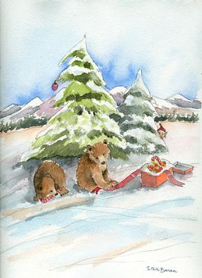 Esther Baran Artwork - Bear Cubs