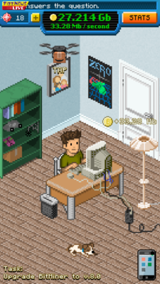 Dnilos corner of creativity - Game: Bitcoin Billionaire