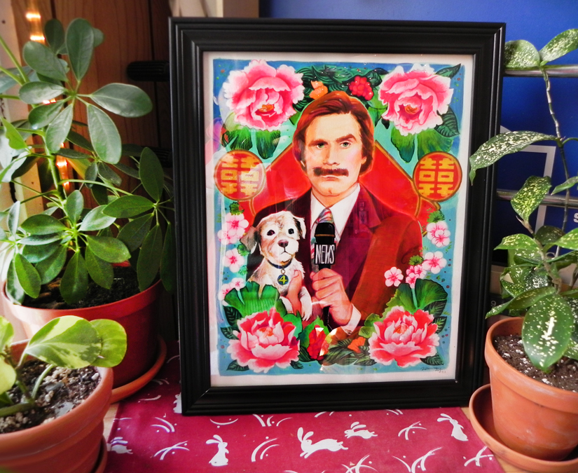 Veronica Fish | Illustration & Design - Ron Burgundy