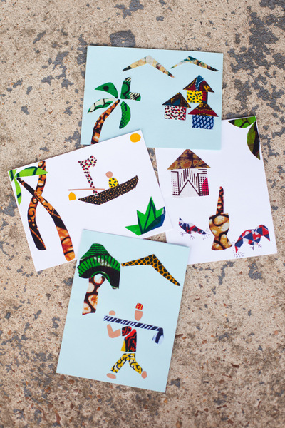 Women of Hope International - Greeting Cards - Village Scenes