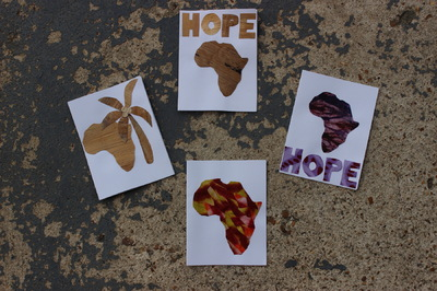 Women of Hope International - Greeting Cards - Africa Hope