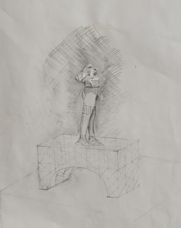 PHOTO SCULPTURE - concept sketch