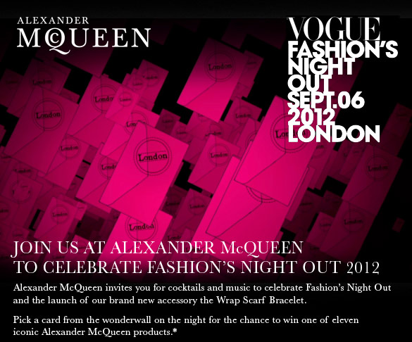 VM portfolio - Fashion Night out 2012