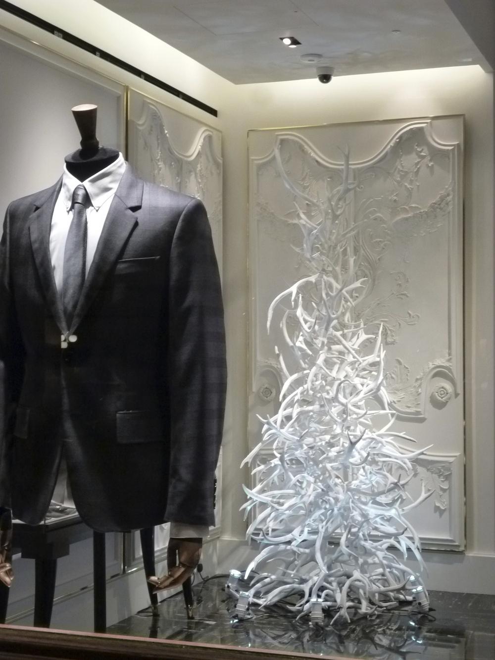VM portfolio - Savile Row. Christmas Tree