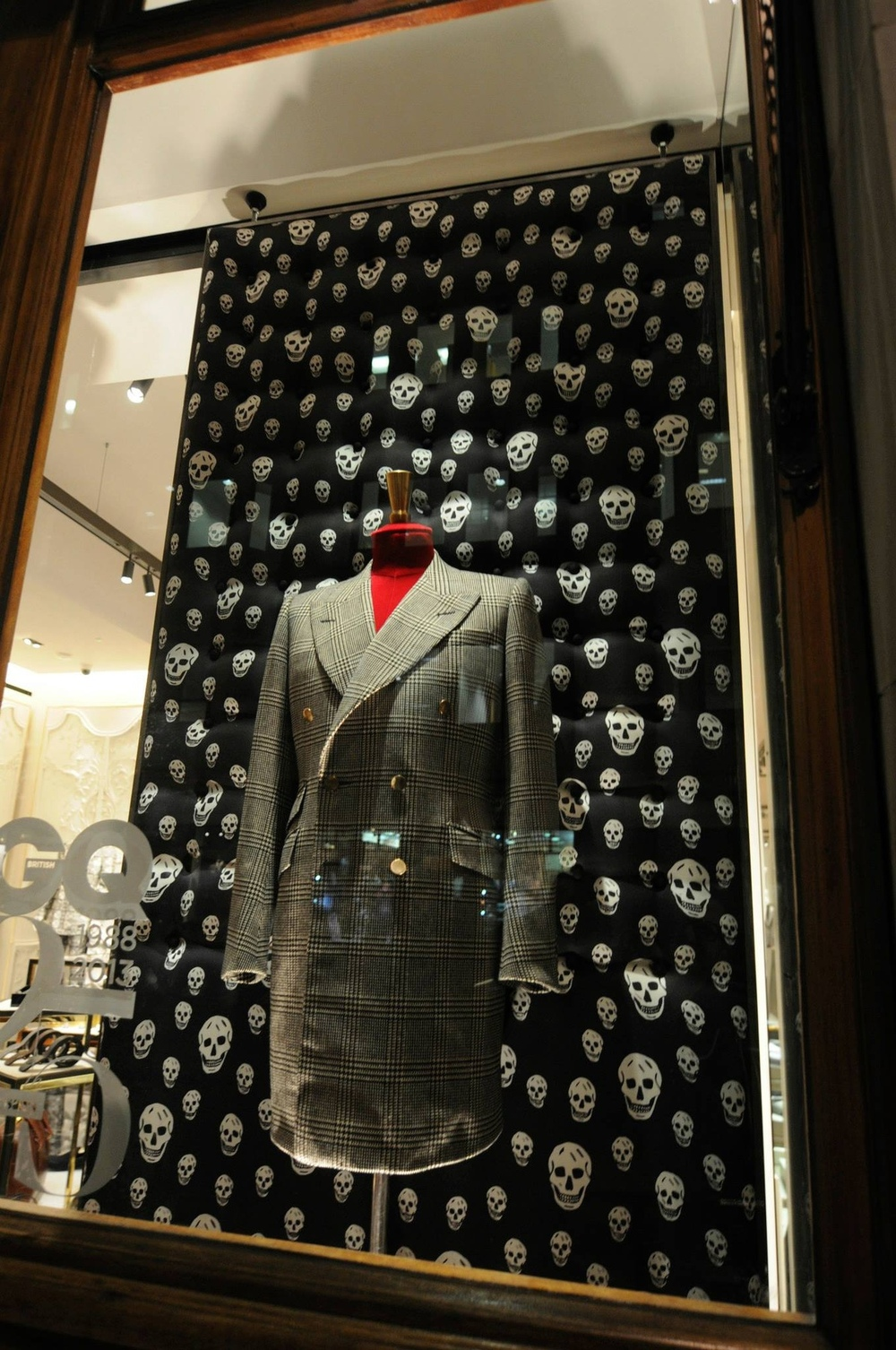 VM portfolio - Savile Row. GQs 25th Birthday