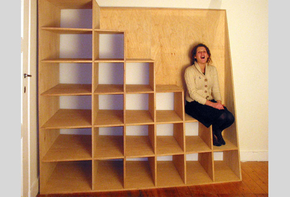 Kast In Trap : Trap kast jeroen theuns architect