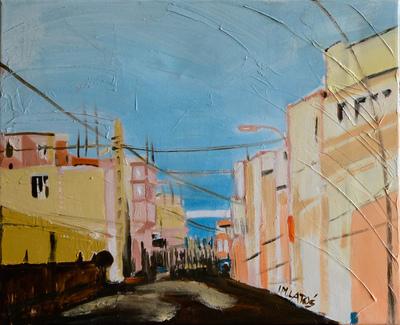 izabelalatos - Morocco. 40 x 50 cm oil on canvas