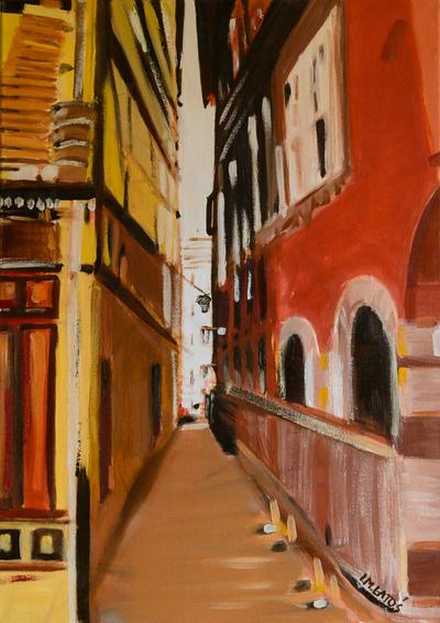izabelalatos - Strasbourg. 70 x 50 cm oil on canvas