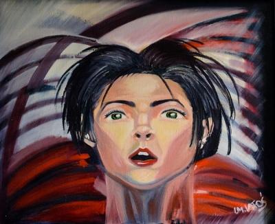 izabelalatos - Desire. 60 x 70 cm oil on canvas