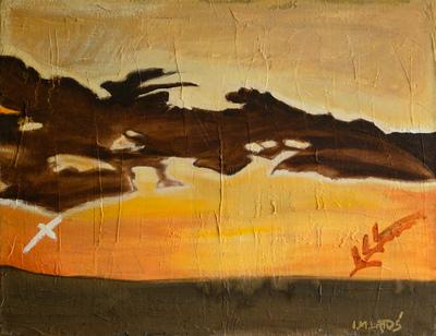 izabelalatos - Marocco 010. 47 x 61 oil on canvas