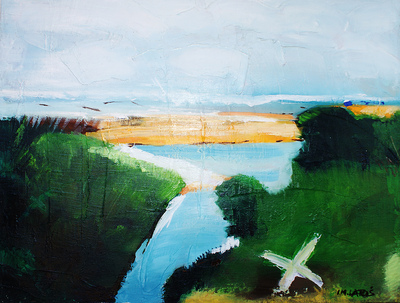 izabelalatos - Torquay 13 Australia. 60 x 47 cm oil on canvas