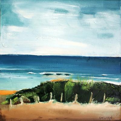 izabelalatos - Torquay 5 Australia. 40 x 40 cm oil on canvas
