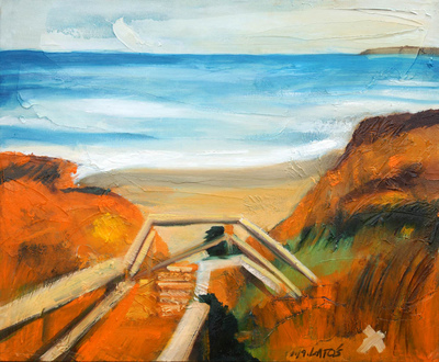 izabelalatos - Victoria 4 Australia. 60 x 50 cm oil on canvas