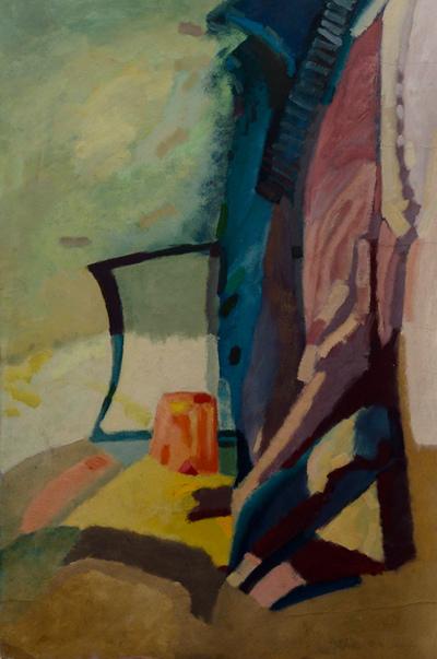 izabelalatos - Still life 5. 100 x 55 cm acrylic