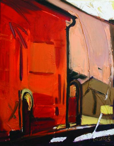 izabelalatos - France. 40 x 30 cm oil on canvas