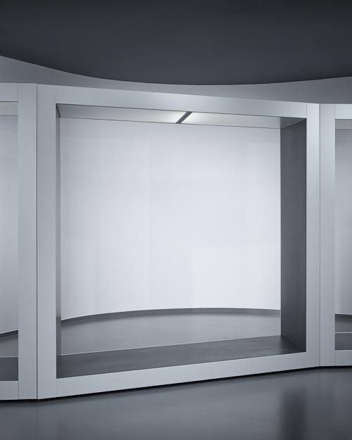 FLÓ Architects - installation box- parallelogram shape