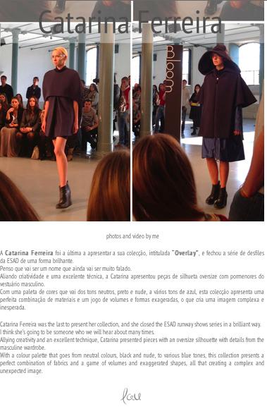 Catarina Ferreira - The Blacksheep | Overlay SS13 | Espaço Bloom