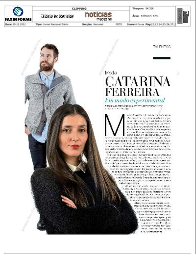 Catarina Ferreira - Diário de Notícias | 13 Apostas para 2013