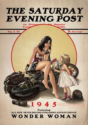 RUIZ BURGOS - WONDER WOMAN 1945
