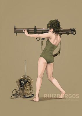 RUIZ BURGOS - BAZOOKA GIRL