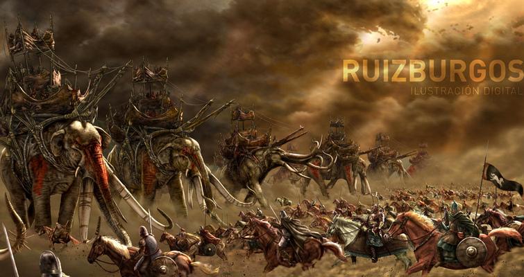 RUIZ BURGOS - PELENNOR FIELDS