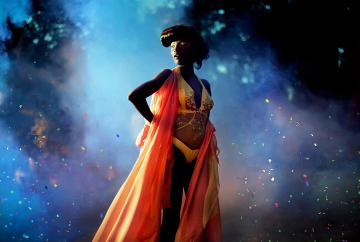 Stéphanie Meers Make up Artist - Photographer David Olkarny Fashion design by Débora Velasquez