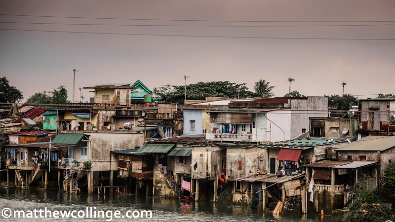 Matthew Collinge Photography - Riverside homes, Vietnam