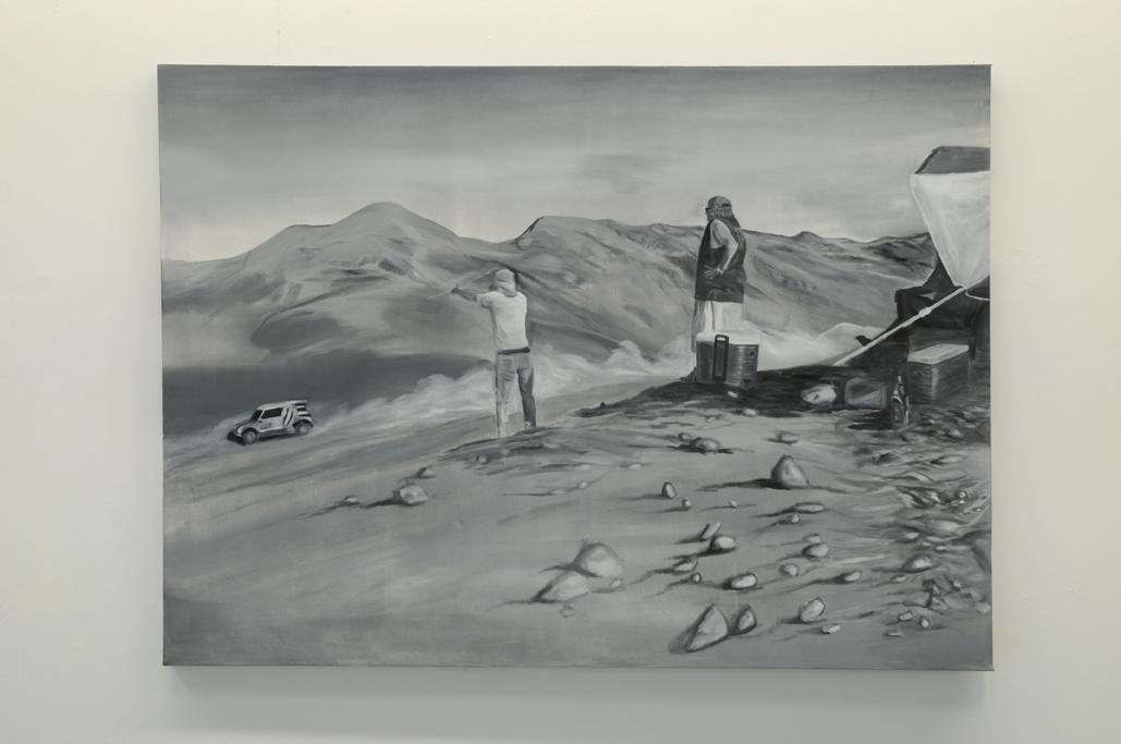 portfolio - Série peintures grises,92x130 cm.