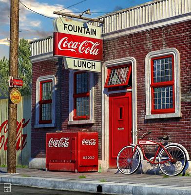 eugeniogarcia - vintage coca cola store
