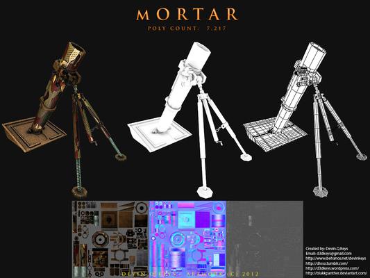 Texture Artist & 3d Modeler - Devin Q. Keys -