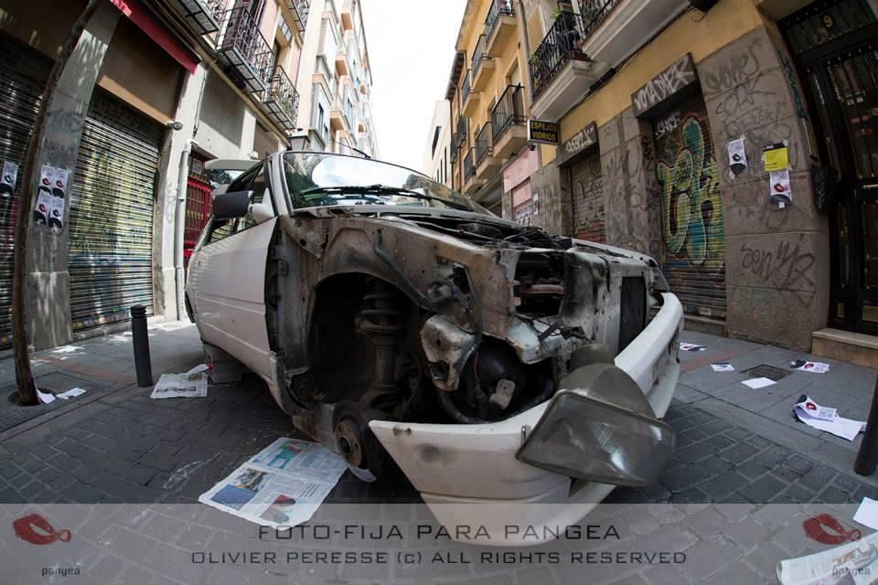 Clara Santaolaya - Rodaje Pangea
