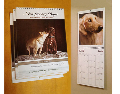 New Jersey Dogs Calendar and Book Project - FREE SHIPPING! THREE SIGNED CALENDARS ($19.97 x 3 = $59.91). Please allow up to 5 business days for processing & delivery. Deliveries to NJ addresses save 7% instantly because we pay the sales tax!