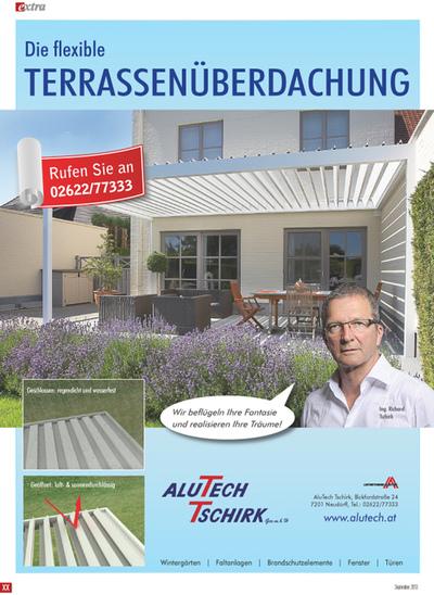 Beatrix Kreißl - Alutech Inserat
