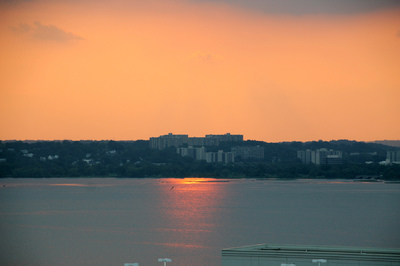Creative Images by Loyce - Sunset over the Potomac